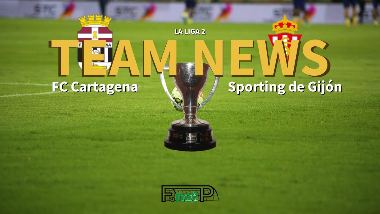 La Liga 2 News: FC Cartagena vs Sporting Gijón Confirmed Line-ups