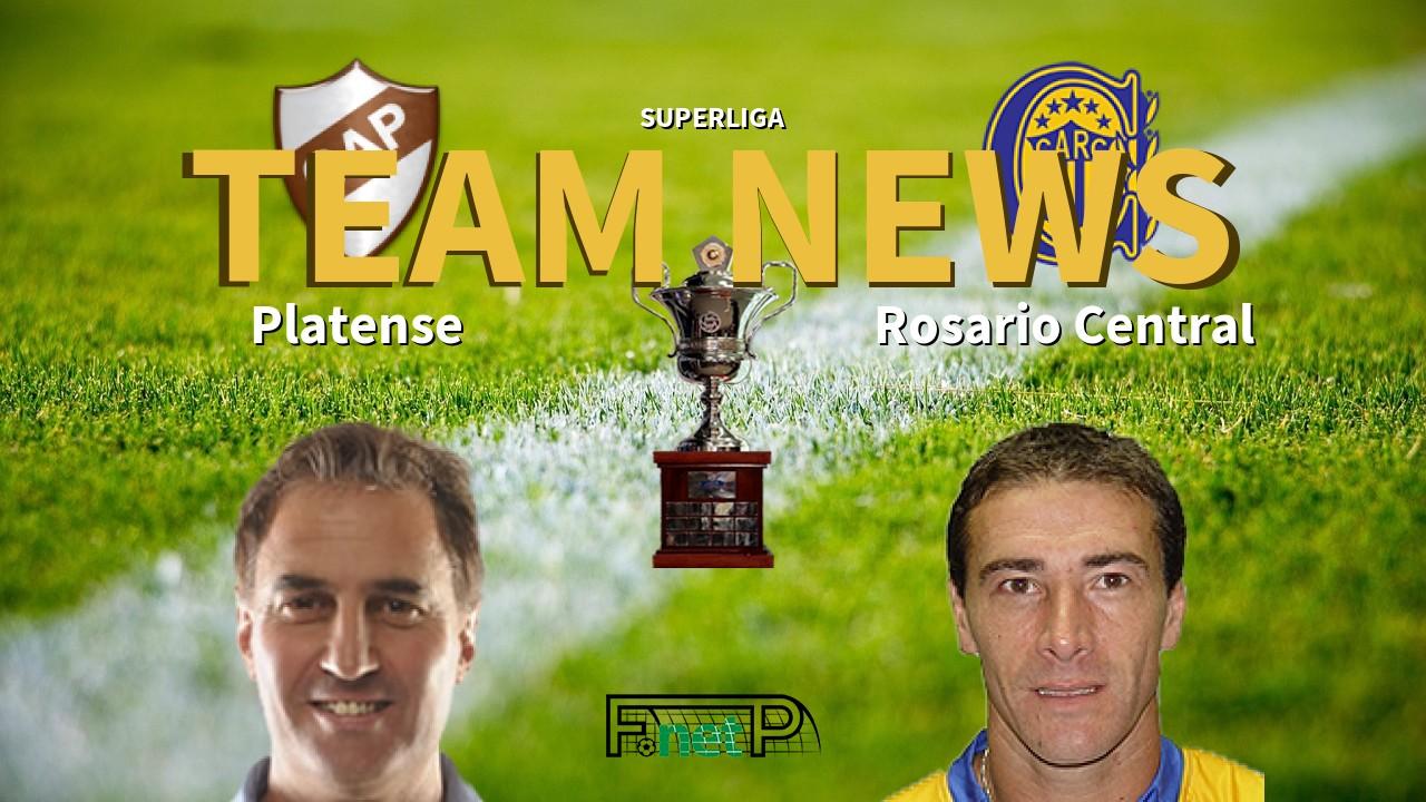 Superliga News: Platense vs Rosario Central Confirmed Line-ups