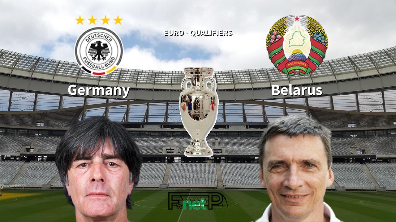 Germany vs Belarus Odds, H2H, Tip - 16/11/2019