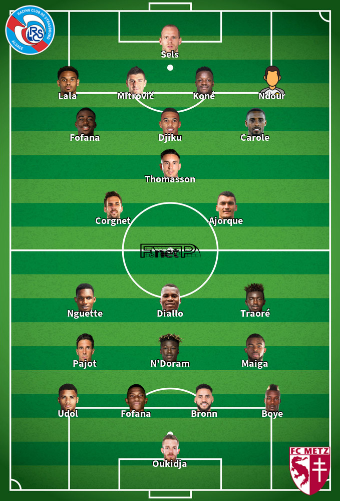 Metz v Strasbourg Predicted Lineups 11-01-2020