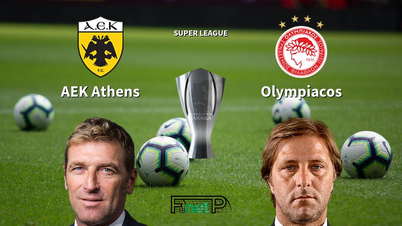 AEK Athens vs Olympiacos Live Stream, Odds, H2H, Tip - 26/01/2020