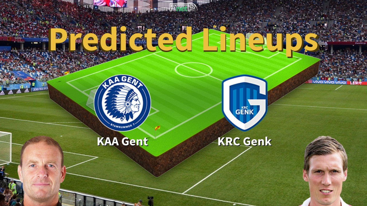 Predicted Lineups and Player News for KAA Gent vs Genk 25/01/20 - First Division A News