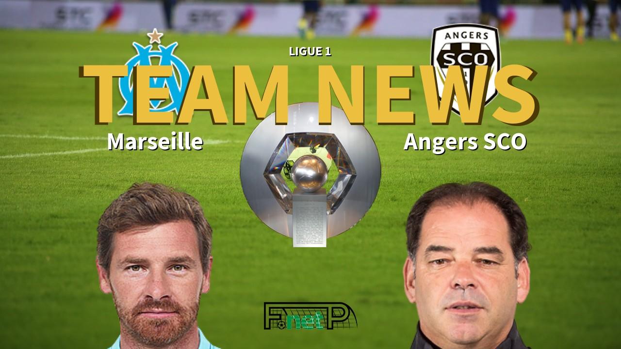Ligue 1 News: Marseille vs Angers SCO Confirmed Line-ups