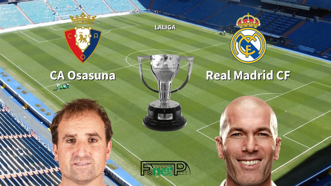 Image result for Osasuna vs real madrid