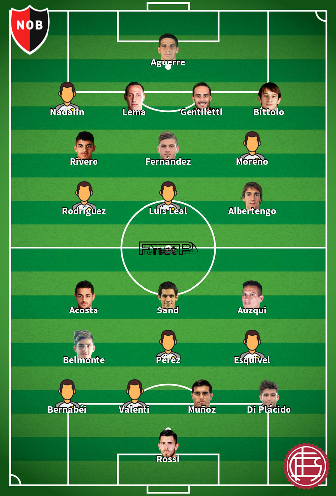 Lanús v Newell´s Old Boys Predicted Lineups 16-02-2020