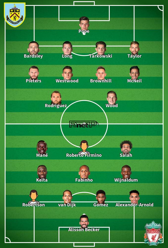 ᐉ Liverpool vs Burnley Prediction & Betting Tips 11 Jul