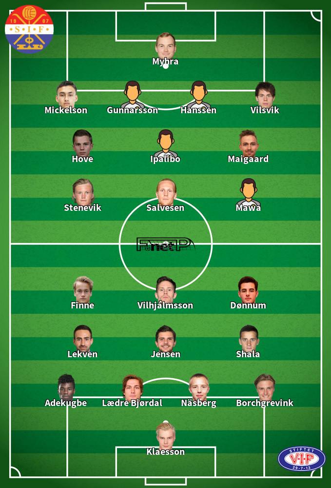 Vålerenga v Strømsgodset IF Predicted Lineups 26-07-2020