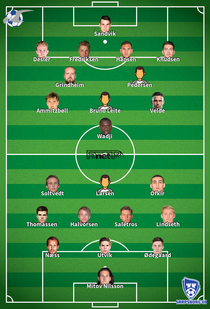 Sarpsborg 08 v FK Haugesund Predicted Lineups 29-07-2020