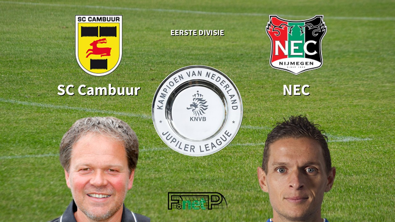 ᐉ Sc Cambuur Vs Nec Prediction Betting Tips 28 Aug