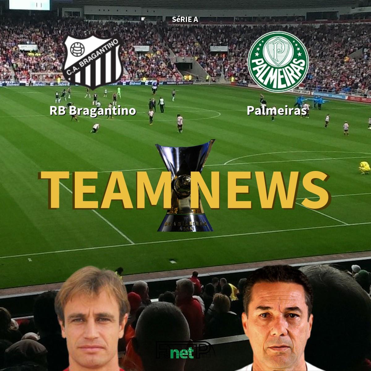 Serie A News Red Bull Bragantino Vs Palmeiras Confirmed Line Ups