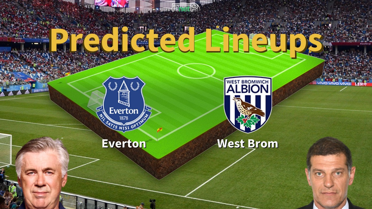Predicted Lineups And Player Updates For Everton Vs West Bromwich Albion 19 09 20 Premier League News