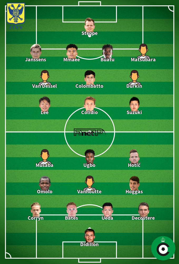 Cercle Brugge v Sint-Truidense VV Predicted Lineups 21-09-2020