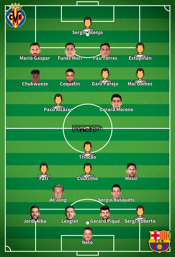 ᐉ FC Barcelona gegen Villarreal Prognose 27 Sep