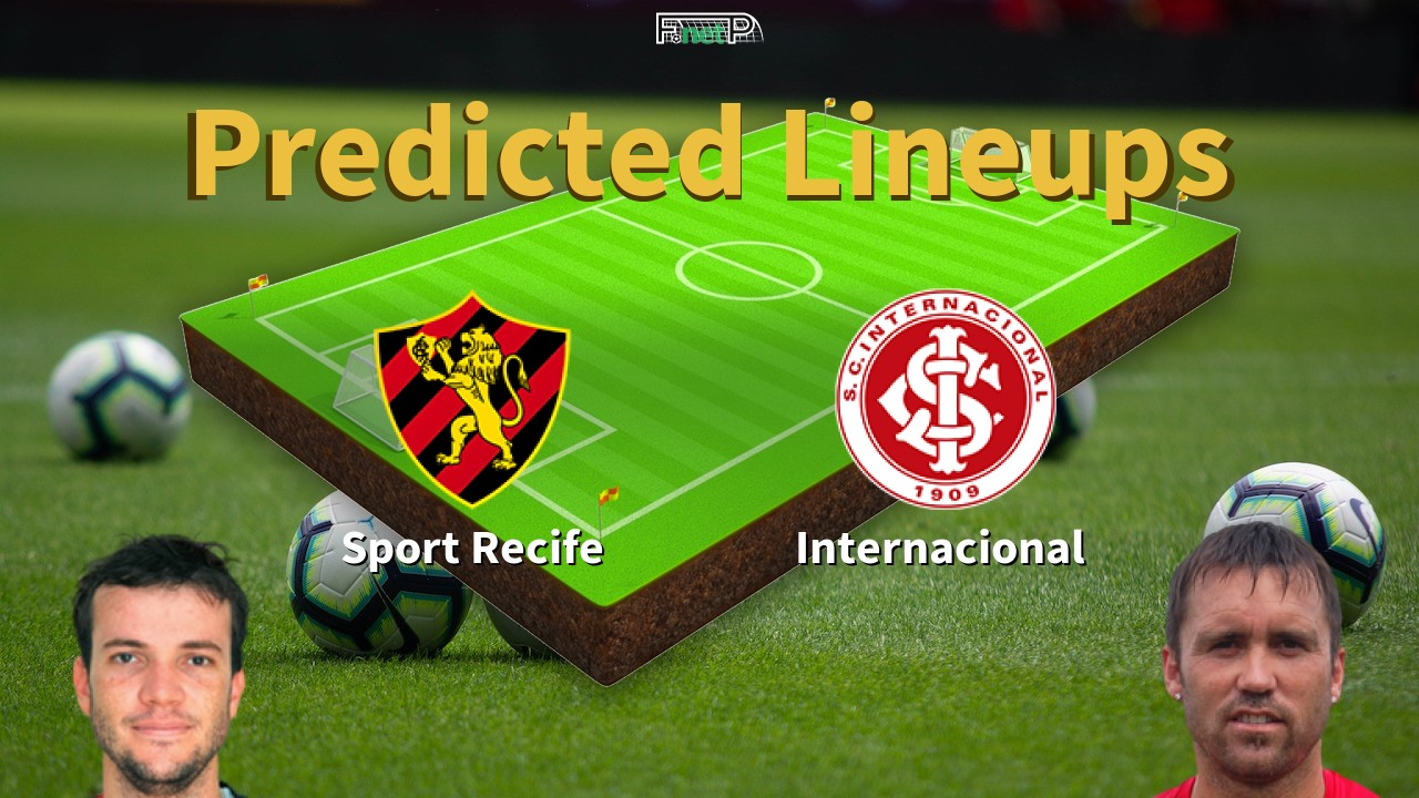 Predicted Lineups And Player Updates For Sport Recife Vs Internacional 15 10 20 Serie A News