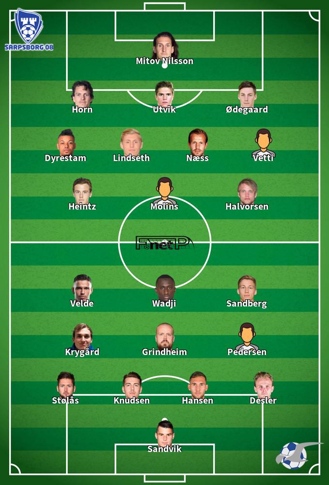 FK Haugesund v Sarpsborg 08 Predicted Lineups 18-10-2020