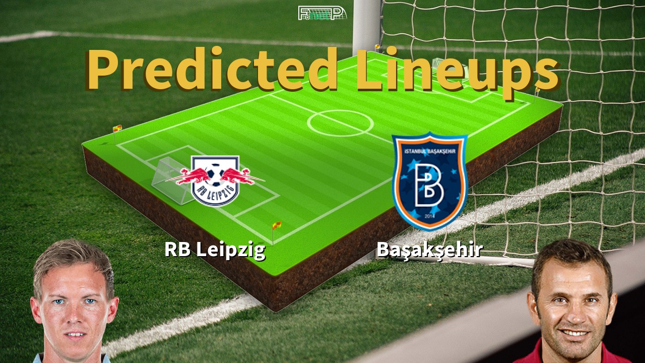 Predicted Lineups And Player Updates For Rb Leipzig Vs Istanbul Basaksehir 20 10 20 Champions League News