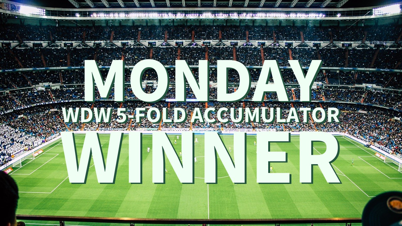 Monday 4/1 WDW 5-Fold Accumulator Lands!