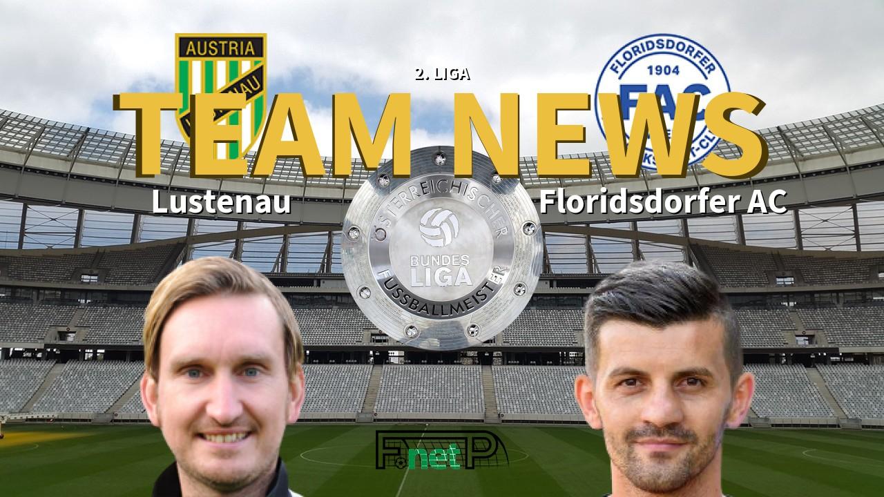 2 Liga News Sc Austria Lustenau Vs Floridsdorfer Ac Confirmed Line Ups