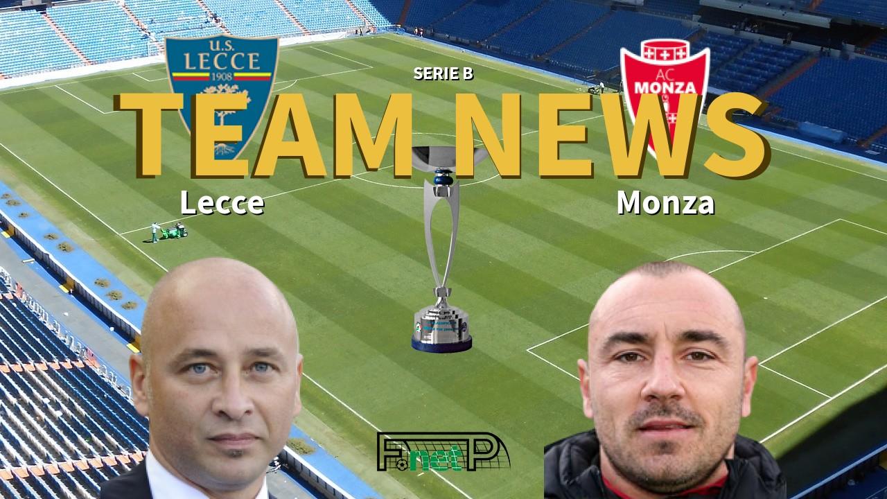 Serie B News: Lecce vs Monza Confirmed Line-ups