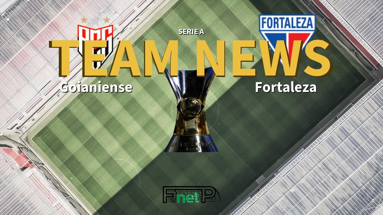 Serie A News: Atlético Goianiense vs Fortaleza Confirmed Line-ups