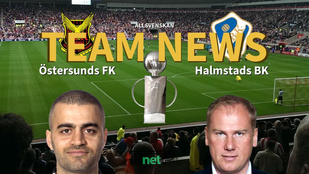 Allsvenskan News: Östersunds FK vs Halmstads BK Confirmed Line-ups